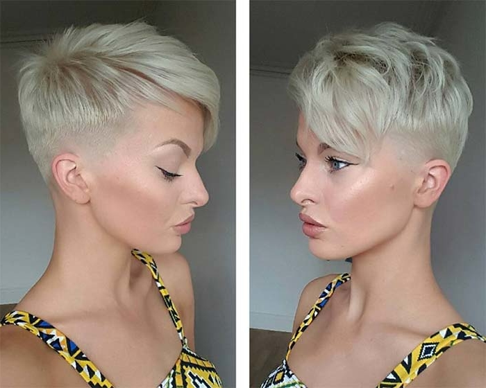 50 Short Shaved Bob Hairstyles, Pixie Cuts And Undercut