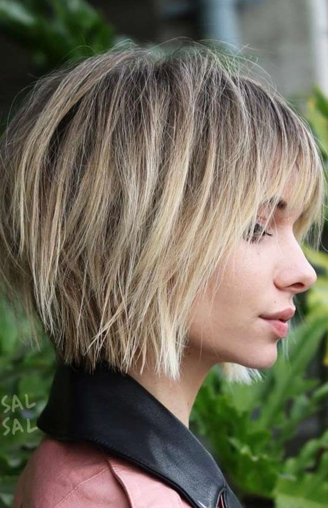 Layered Hairstyles With Bangs 2019 37