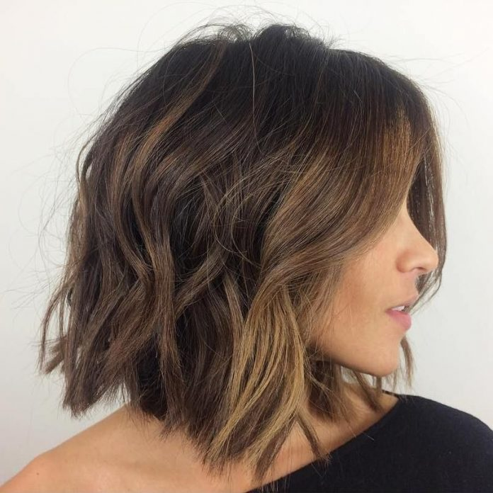 37 Short Choppy Layered Haircuts - Messy Bob Hairstyles Trends for ...