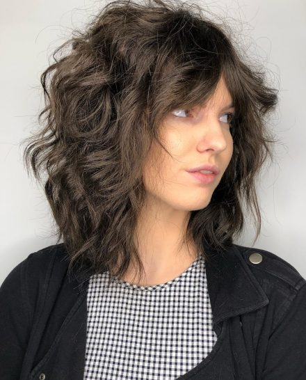Top 25 Short Shag Haircuts Right Now Short Bob Cuts