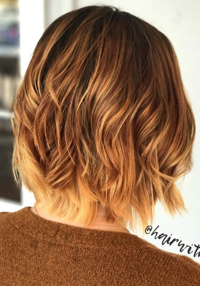 30 Best Short Ombre Hair Color Inspirations For 2019 Short Bob Cuts
